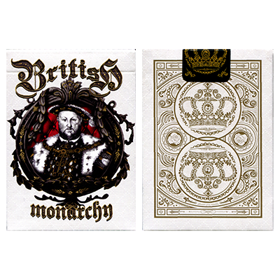 King Henry VIII (Limited Edition) British Monarchy Playing Cards by LUX