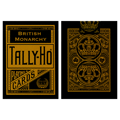 Tally-Ho British Monarchy Playing Cards by LUX