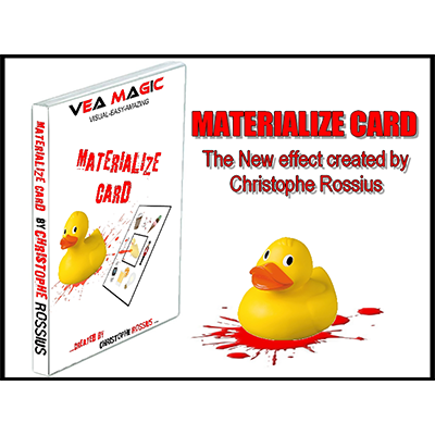MATERIALIZE CARD Materialize Card by Christophe Rossius