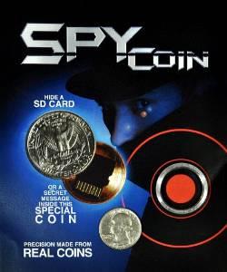 Spy Coin - Quarter