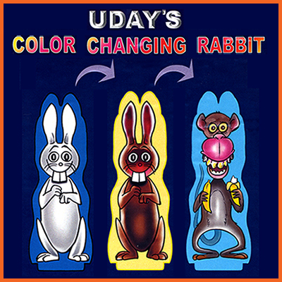 Color Changing Rabbits by Uday