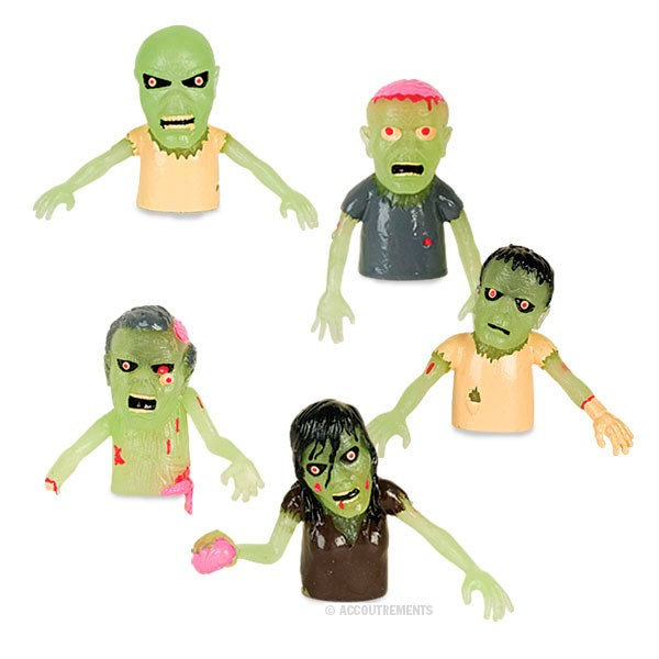 Zombie Finger Puppet