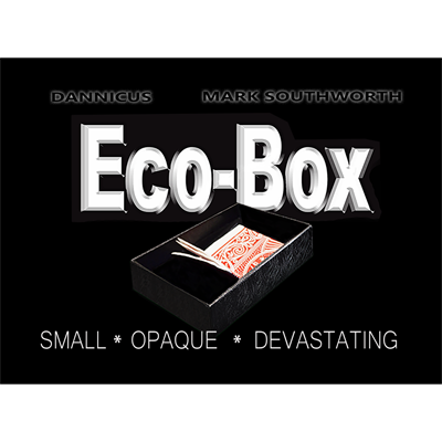 ECO_BOX by Hand Crafted Miracles & Mark Southworth*