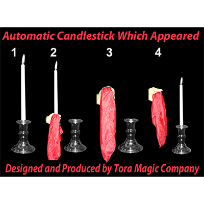 Automatic Appearing Candle by Tora Magic