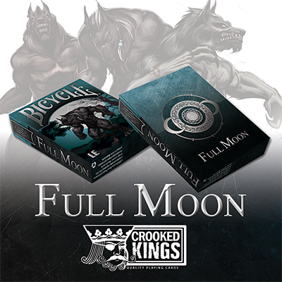 Bicycle Werewolf Full Moon Playing Cards (Standard Edition)