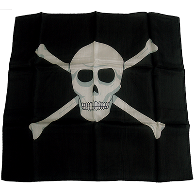 18 inch Skull Silk by Magic By Gosh