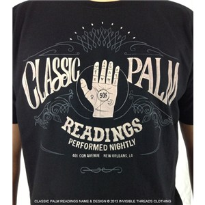 Class Palm Reading Tee Shirt