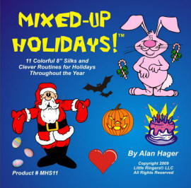 Mixed Up Holidays - Silk Version