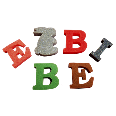 Alpha-Bits Letter Pack (Regular Sponge) by Goshman