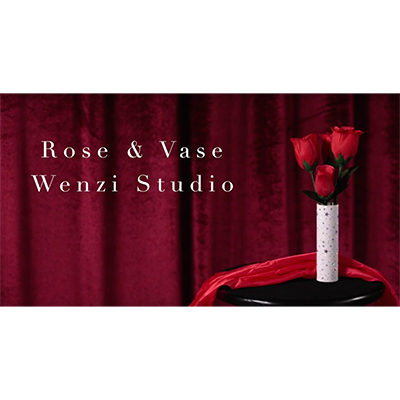 Rose & Vase by Bond Lee & Wenzi Magic