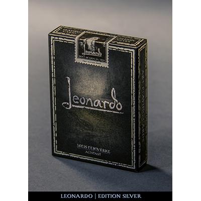 Leonardo-Silver-Edition-by-Legends-Playing-Card-Company