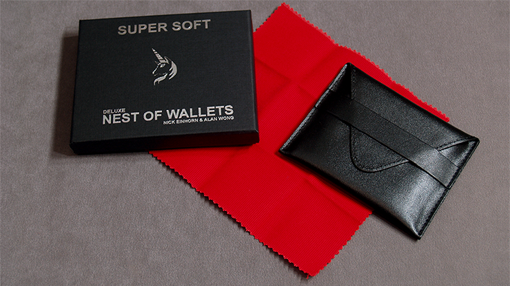 Super Soft Deluxe Nest of Wallets (AKA Nest of Wallets V2) by Nick Einhorn and Alan Wong