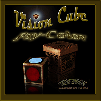 Vision Cube (Color Spots /Psycolor cube) by Hand Crafted Miracles