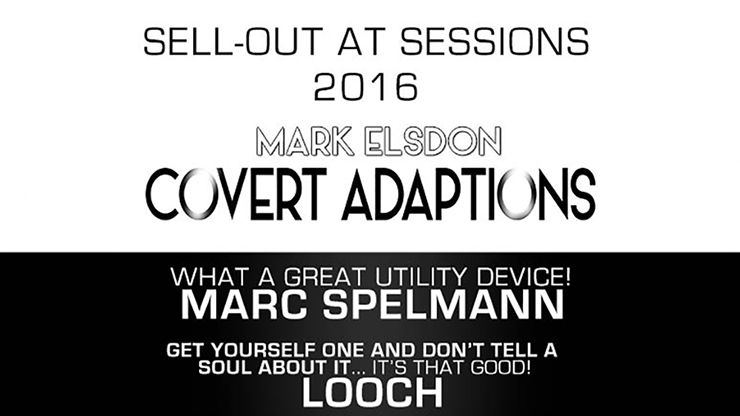Covert Adaption by Mark Elsdon & James Anthony*