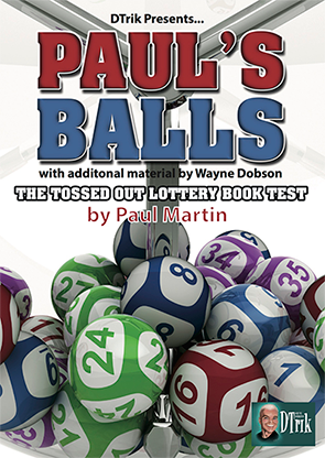Paul`s Balls by Wayne Dobson and Paul Martin