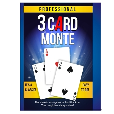Three Card Monte - Pro