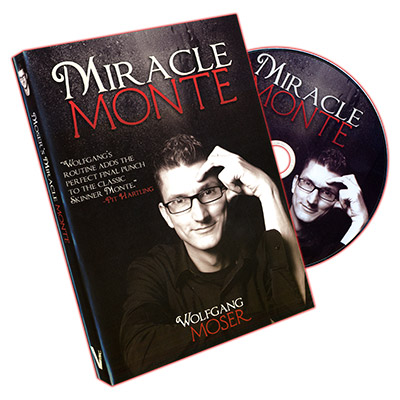 Miracle Monte (20 Bicycle Cards and DVD)  by Wolfgang Moser
