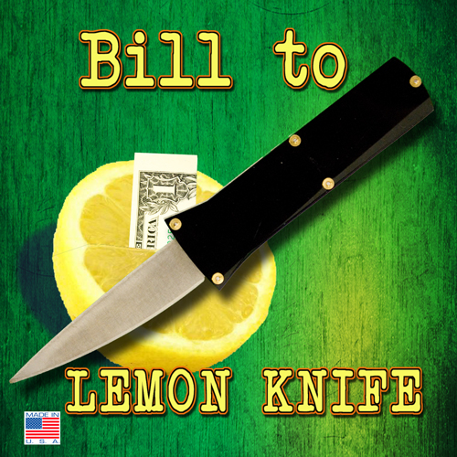 Bill In Lemon Knife