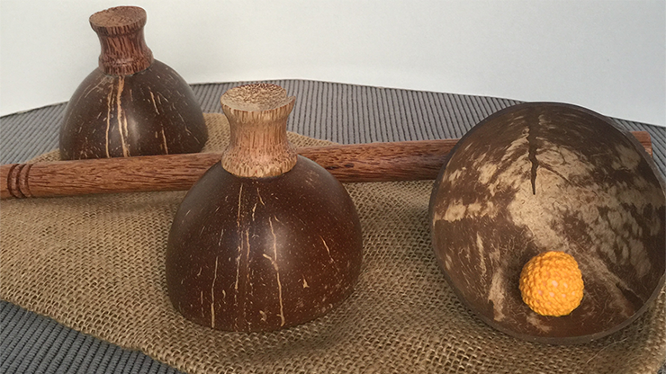 Cheppum-Panthum-Coconut-Shell-Cups-and-Wand-set-by-Gary-Kosnitzky