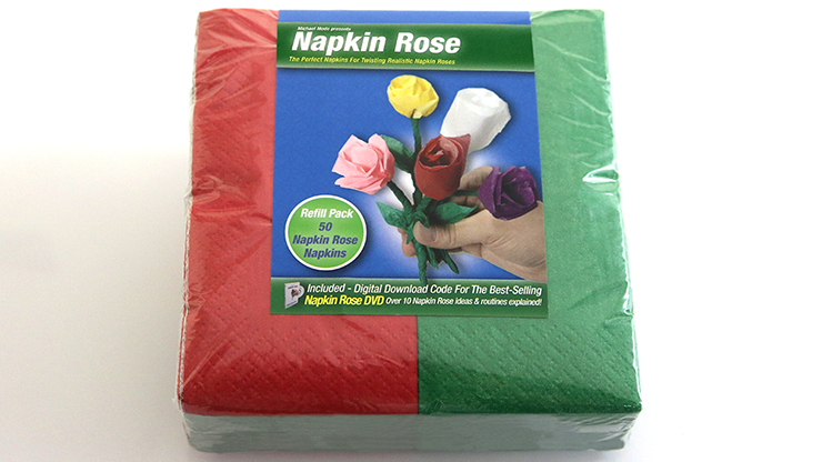 Napkin Rose Kit (Red) by Michael Mode