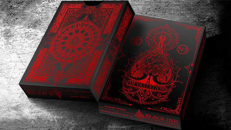 Devastation Playing Cards (Standard Edition) by Jody Eklund