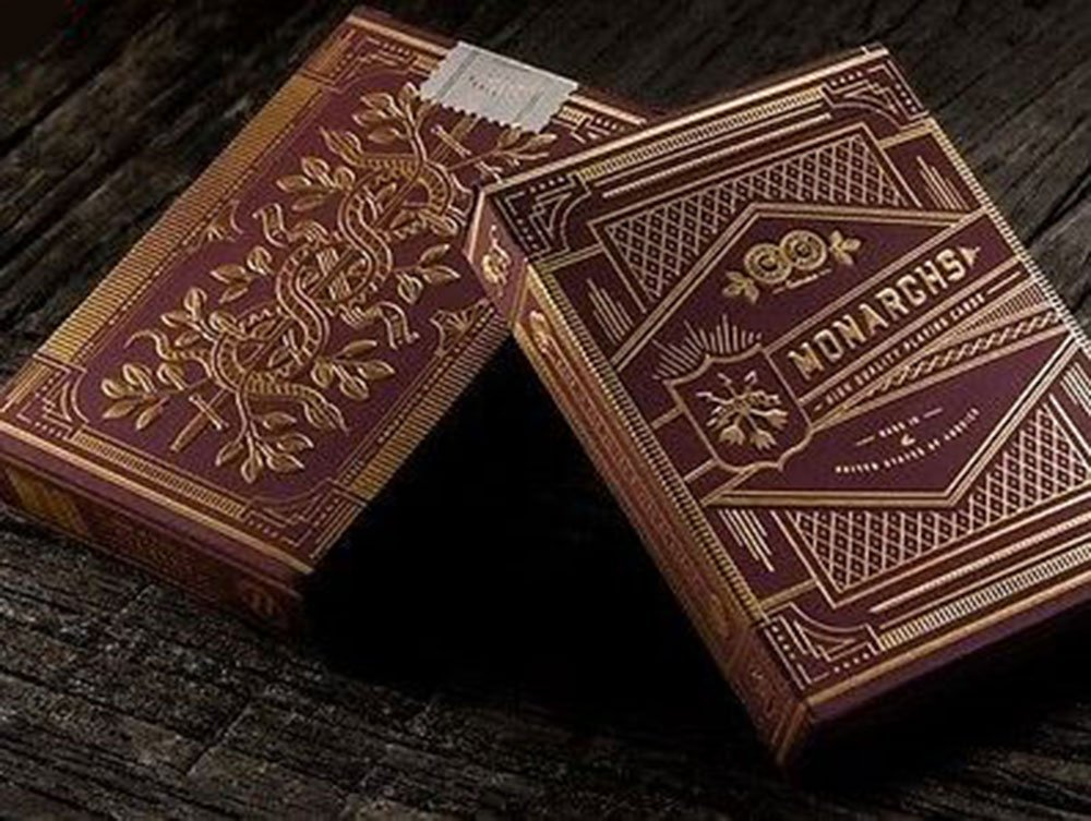 Monarch Playing Cards - Red Edition