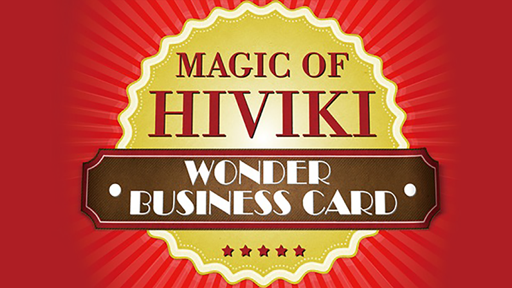 Wonder Business Card by Hiviki*