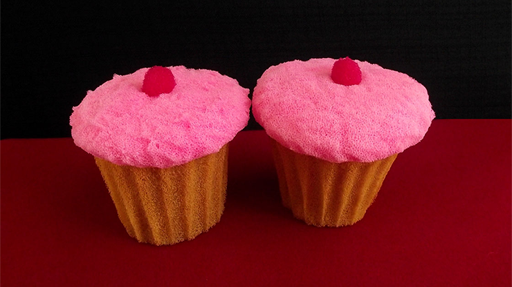 Sponge Cupcake (2 pieces) by Alexander May