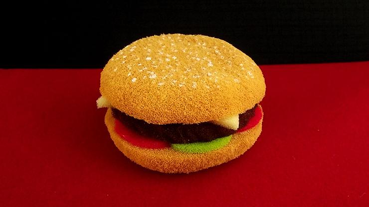 Sponge Hamburger by Alexander May
