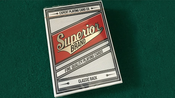Superior  Playing Cards by Expert Playing Card Co