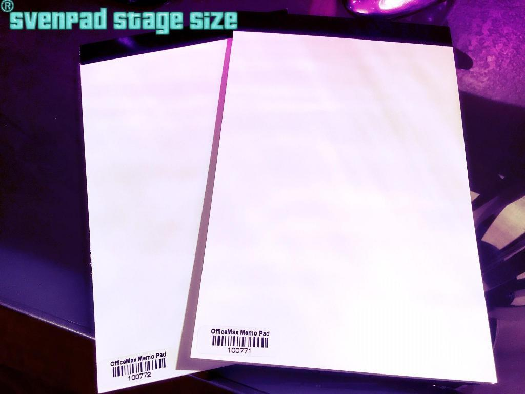 Sven Pad - Stage Size