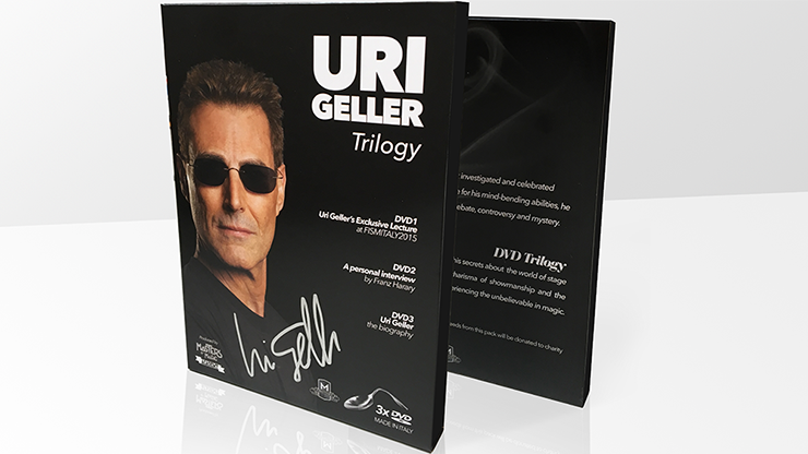 Uri Geller (Signed Box and Spoon) Set