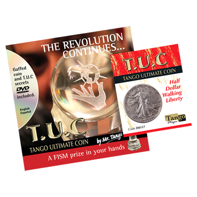 Tango Silver Line T.U.C. Walking Liberty Half Dollar (w/DVD) by Tango