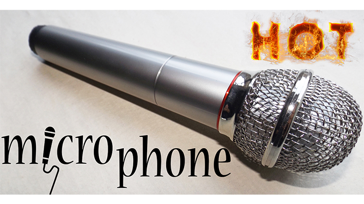 Hot Microphone by Amazo Magic