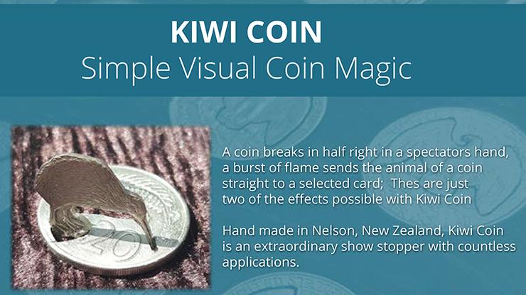 Kiwi Coin by Steve Wilbury