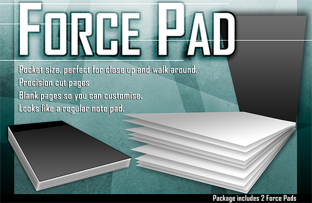 Force Pads (Set of Two) by Warped Magic