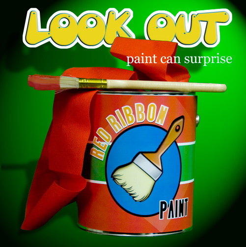 Look Out Paint Can