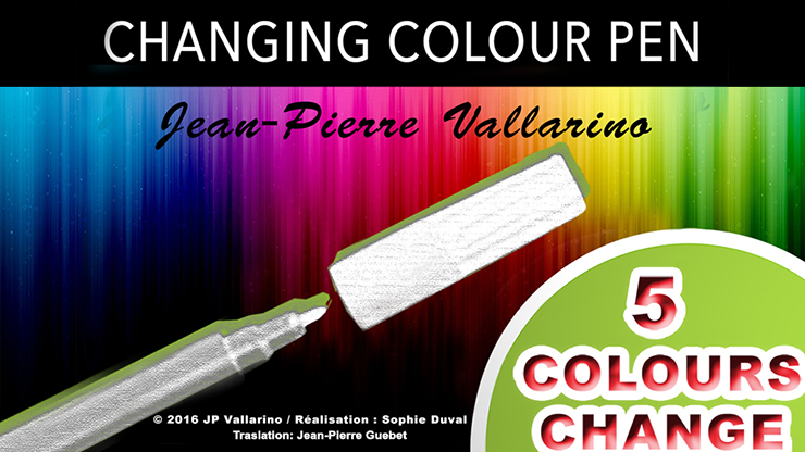 Color Changing Pen by Jean-Pierre Vallarino