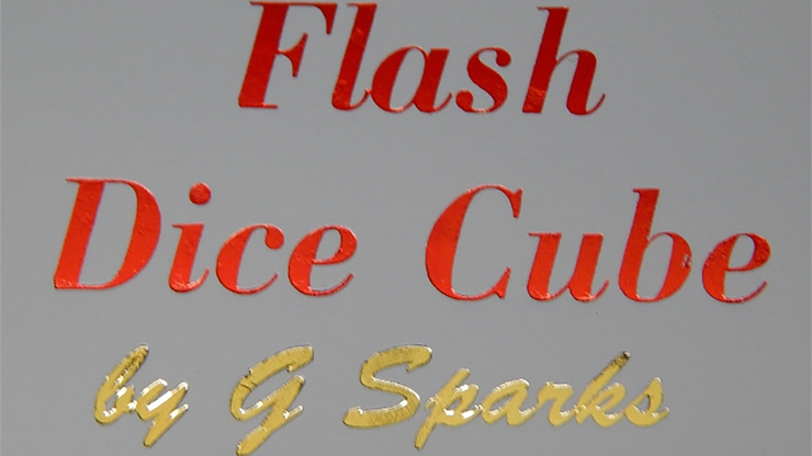 FLASH DICE CUBE by G Sparks
