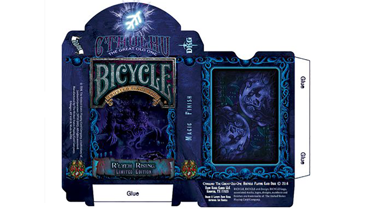 Bicycle Cthulhu R`LYEH RISING Limited Edition Playing Cards