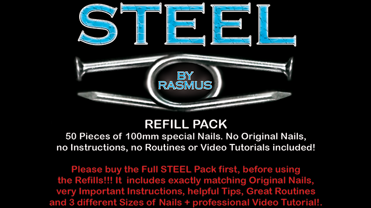 STEEL Refill Nails 50 ct. by Rasmus