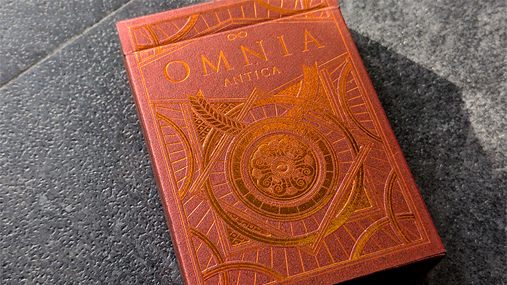 Omnia Antica Playing Cards by Giovanni Meroni