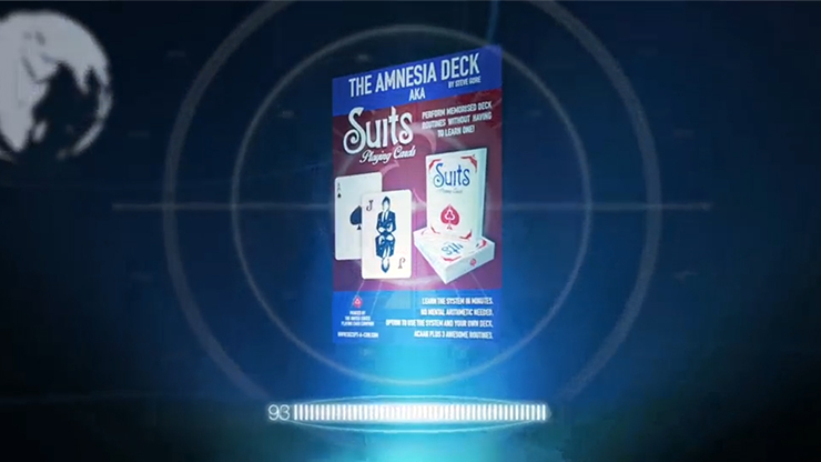 The Amnesia Deck AKA Suits Deck by Steve Gore*