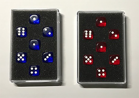Prediction Gimmicked Dice (7 Dice) by Kreis