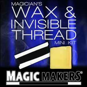 Magic Makers Magician`s Wax and Invisible Thread