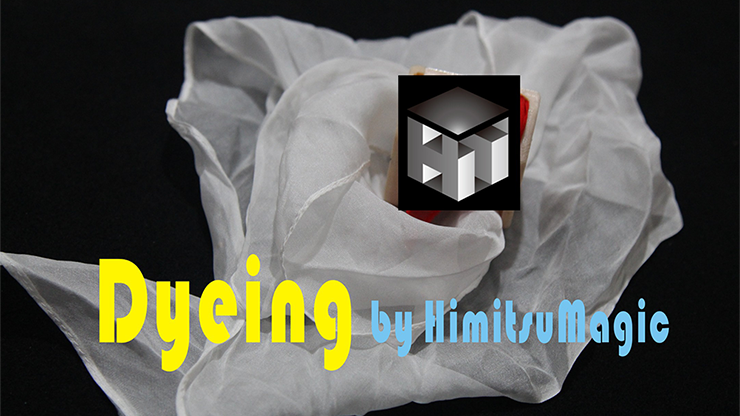 Dyeing by Himitsu Magic