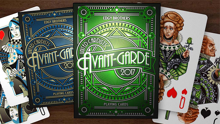 Avant-Garde United Cardists 2017 Playing Cards by Edgy Brothers