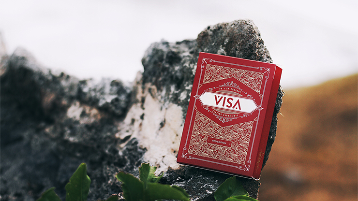 Visa Playing Cards by Patrick Kun and Alex Pandrea
