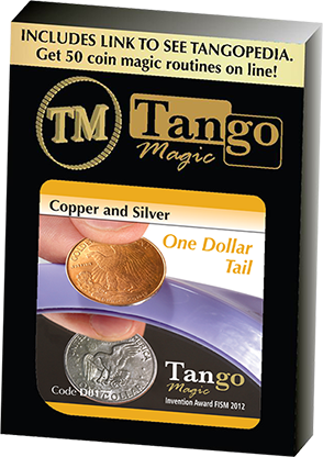 Copper and Silver Dollar (Tails) by Tango Magic