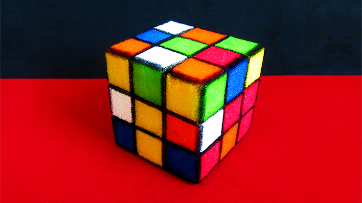 Sponge Rubik`s Cube by Alexander May
